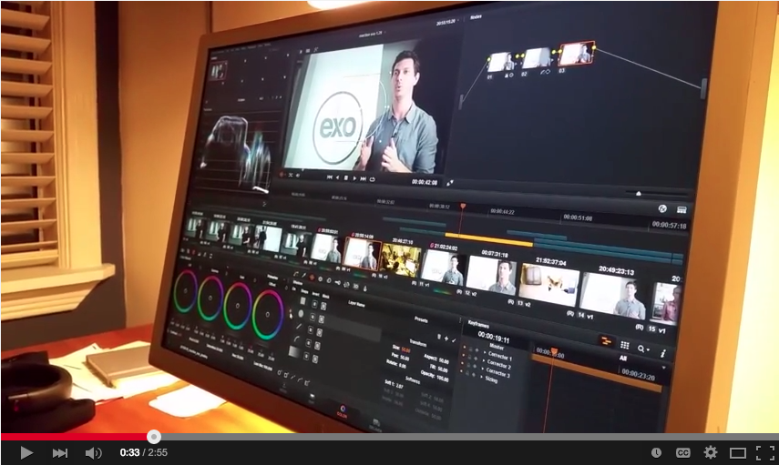 Video Color Correcting: Coloring Backgrounds in DaVinci Resolve